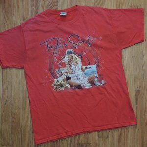 Taylor Swift Fearless T shirt Rare 2008 Red Tour